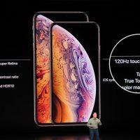 Tần số nhận cảm ứng của màn hình 120Hz trên iPhone XS và XS Max