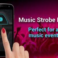 Ứng dụng đèn nháy flash theo điệu nhạc Music Strobe Light