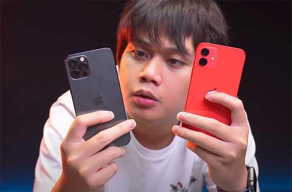 So sánh iPhone 12 và iPhone 12 Pro