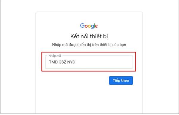 Hướng dẫn đăng nhập YouTube trên Smart Tivi (2)
