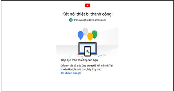 Hướng dẫn đăng nhập YouTube trên Smart Tivi (4)