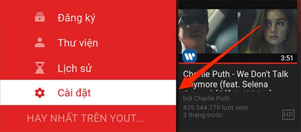 Hướng dẫn cách xóa tài khoản YouTube trên Smart Tivi