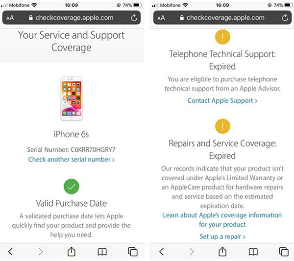 Hướng dẫn cách kiểm tra iPhone chính hãng (2)