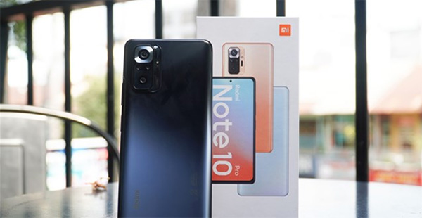 Xiaomi Redmi Note 10 Prolà một smartphone tầm trung có camera 108MP