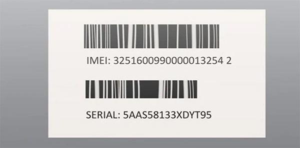 Kiểm tra mã Serial trong vỏ hộp hoặc liên hệ Apple Support