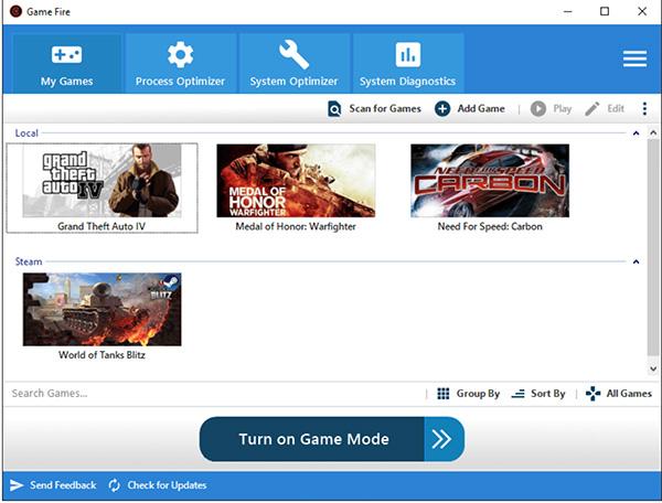 Phần mềm GameBoost